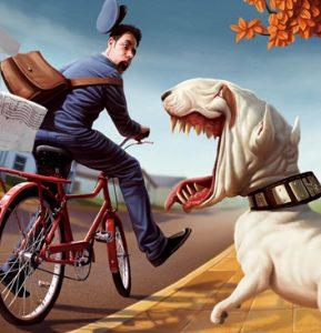 kolesar-kuza